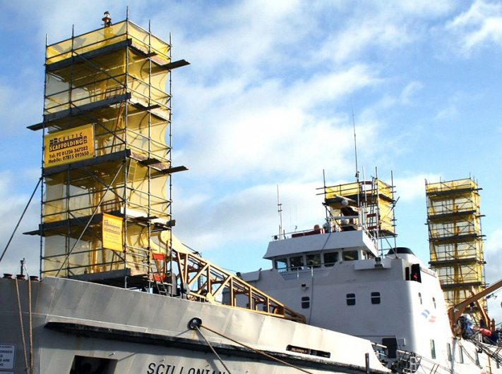 Scaffolding Cornwall